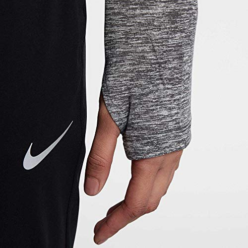 Nike Women's Dry Element Half Zip Top (Small, Dark Grey/HTR) by Nike (Image #3)