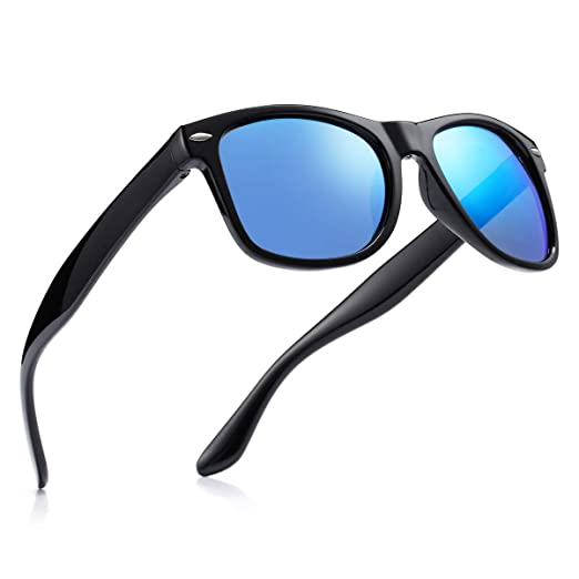 f004f8393e Image Unavailable. Image not available for. Color  Pro Acme 80 s Retro  Classic Stylish Oversized Polarized Sunglasses for Men Women