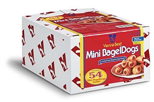 Vienna Beef Mini BagelDogs 3 lbs. (Approximately 54 count)