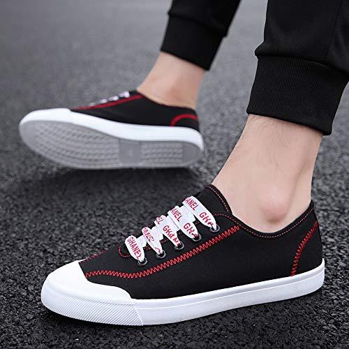 Nanxieho Men Leisure Men's Cloth Trend Canvas Shoes Student Fashion rXxPUq4wr