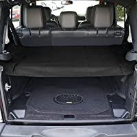 TMB Motorsports Cargo Cover for 2007-2017 Jeep JK Wrangler Trunk Shield Tarp