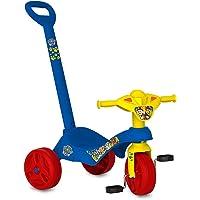 Triciclo Tico-Tico Patrulha Canina C/Haste, Bandeirante, Azul