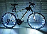 Cheap Super Bright 20-LED Bicycle Bike Rim Lights Personalized LED Colorful Wheel Lights Perfect for Safety and Fun