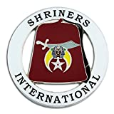 Masonic Exchange Shriners International Fez Auto Emblem