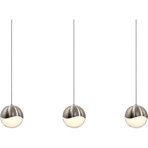 Amazon.com: Pendants - Lámpara de techo con 3 focos LED de ...
