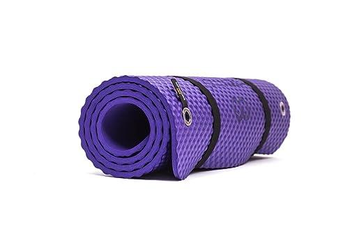 Bootymats - Colchoneta Fitness Multifunción para Todo Tipo de Entrenamiento: Fitness, Pilates, Abdominales, Estiramientos. Medidas: 160 x 60 cm. ...