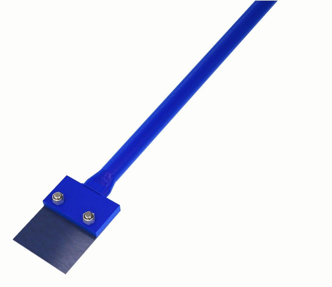Bon 19-164 Roofer Spud bar, Steel, Blue