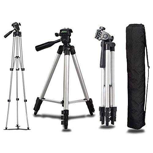 Price comparison product image Universal Aluminum Portable Tripod Stand Camera Camcorder w / Bag for Canon Nikon