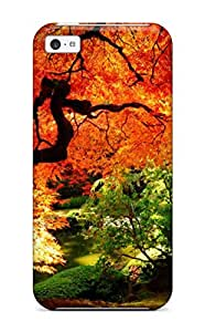 High Grade JessicaBMcrae Flexible Tpu Case For Iphone 5c - Autumn Nature Desktop