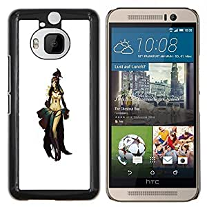 "Be-Star Único Patrón Plástico Duro Fundas Cover Cubre Hard Case Cover Para HTC One M9+ / M9 Plus (Not M9) ( Asia Oriental Princesa Guerrera"" )"