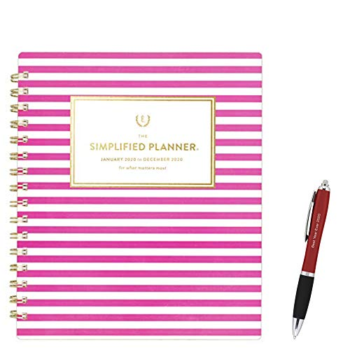 January2020 - December 2020 Simplified Weekly & Monthly A Planner, 7