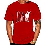 Men's Max's-John Doe Tee shirt L Red