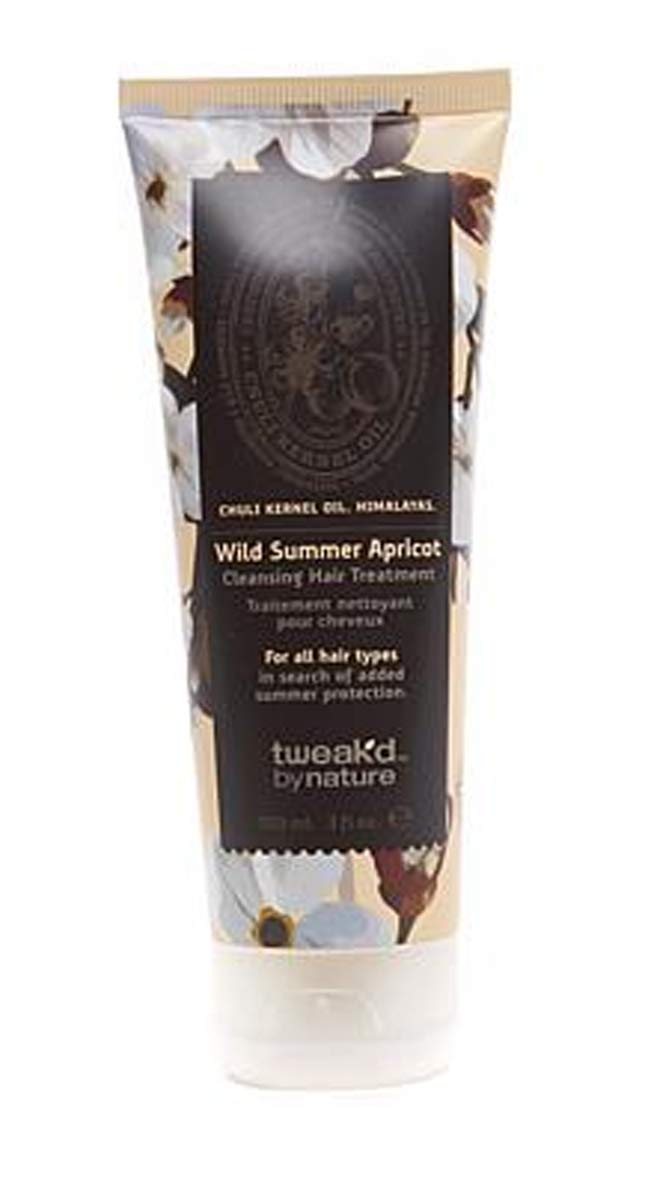 Tweak-d 5 in 1 Formula Self-Cleansing Hair Treatment ~Wild Summer Apricot 3 Ounce Mini Size