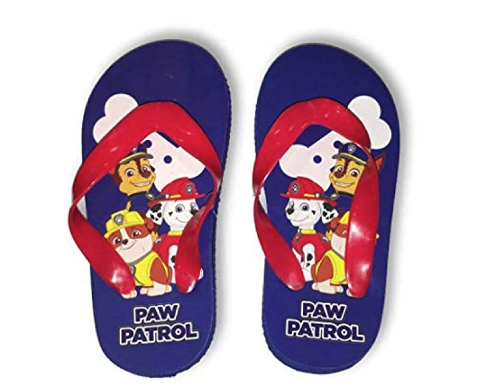 Paw Patrol Flip Flops Chase, Marshall