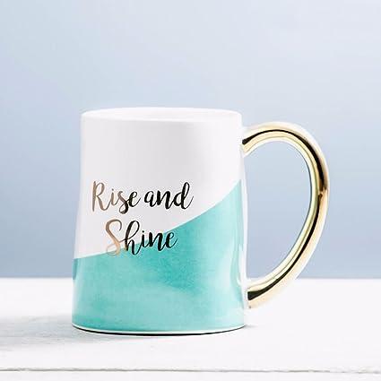 WU-Mug Los países nórdicos de Taza de cerámica Creativa Parejas Beber la Copa Copa