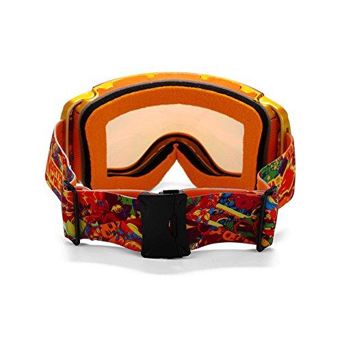Vision Claire alpinisme ange Lunettes Wide Pour Lunettes Unisexe Sphérique Multicolores Lentille SE7VEN Ski Ultra A De Bonne Neige 17qHwOa