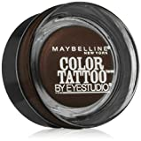 Maybelline Color Tattoo 24 Hour Leather Effect Eye Shadow Number 96, Chocolate Suede by Maybelline