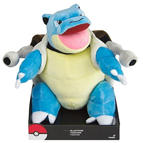 Pokemon Plush Figure Blastoise 30 cm Tomy Peluches