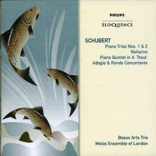 Schubert: Piano Trios 1 & 2; Trout Quintet; Adagio In E Flat D.897 'Notturno' - Trio Schubert