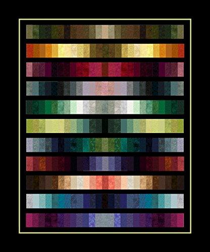 Jinny Beyer Quilt Fabric (Jinny Beyer Studio Spectrum Quilt Kit Fabric and Pattern)