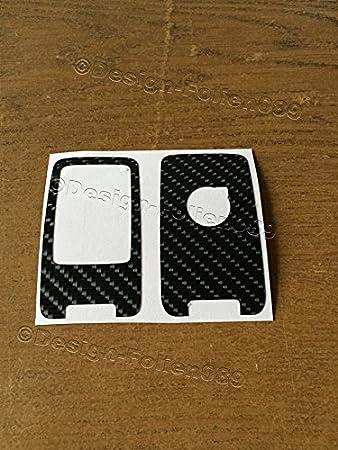 Carbon Black Shiny Foil Decor Key Volvo D5 S80 XC60 XC70 V70 5 Buttons