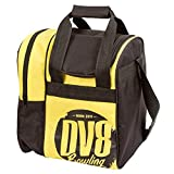 DV8 Tactic Single Tote Bowling Bag, Yellow For Sale