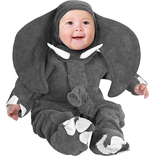 Child's Toddler Infant Elephant Animal Costume (18-24 Months)