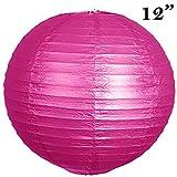 BalsaCircle-12-pack-12-Paper-Lanterns-Lamp-Shades-Party-Supplies