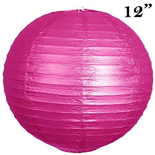 BalsaCircle-12-pack-12-Paper-Lanterns-Lamp-Shades-Party-Supplies