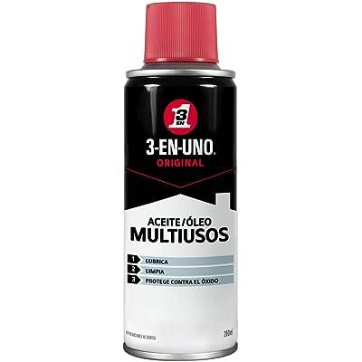 Aceite multiusos - 3 EN UNO - Spray 200 ml - Lubrica, limpia y protege contra el óxido