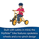 Angeles MyRider Mini Trike Bike, Yellow – Perfect for Beginning Riders Ages 2+, Encourages Active Play, Supports Up to 70lbs, Durable Design, Built-in Safety
