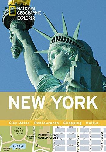 New York erkunden mit handlichen Karten: New-York-Reiseführer für die schnelle Orientierung mit Highlights und Insider-Tipps. New York entdecken mit ... New York. (National Geographic Explorer)