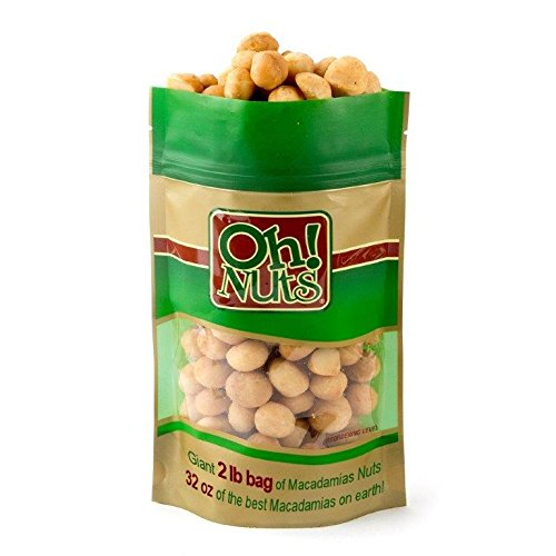 Cooking & Baking Dry Roasted Macadamia Nuts Lightly Salted ...