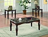 Coaster Home Furnishings 3-piece Occasional Table Set Rich Merlot For Sale
