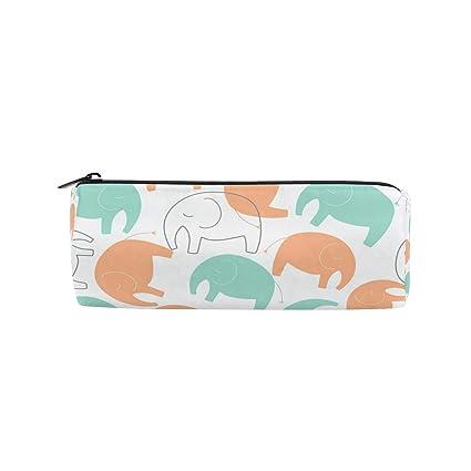 DEZIRO Bolsa de papelería con cierre para dibujo, elefante ...