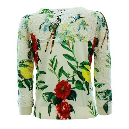 Armani Jeans - Camiseta de manga larga - para mujer Multicolor