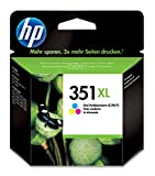 HP 351XL High Yield Tri-color Original Ink Cartridge CB338EE UUS