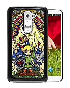 Beautiful Designed Case With Legend Of Zelda Black For LG G2 Phone Case