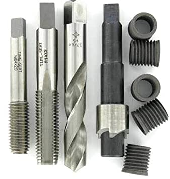 Harpow 25pcs Professional Helicoil Thread//Rethread Repair Kit//Set M8