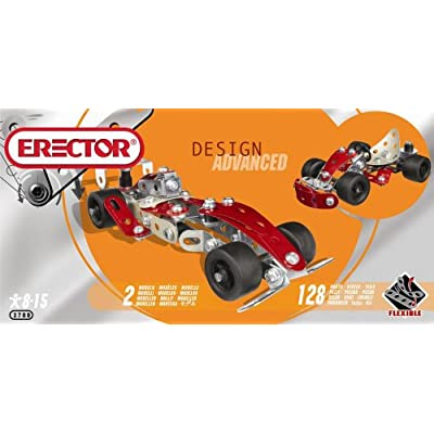 Erector Design Advance set - Formula 1 Car: Toys & Games [5Bkhe0504094]