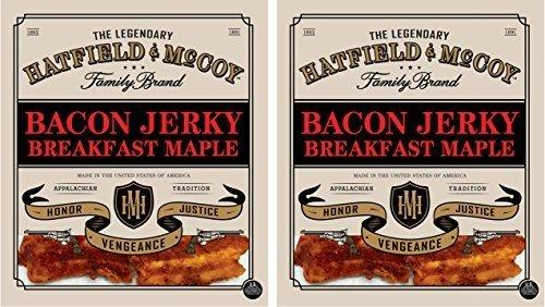 Maple Bacon - Hatfield & McCoy Jerky 2 Pack Breakfast Maple Bacon Jerky