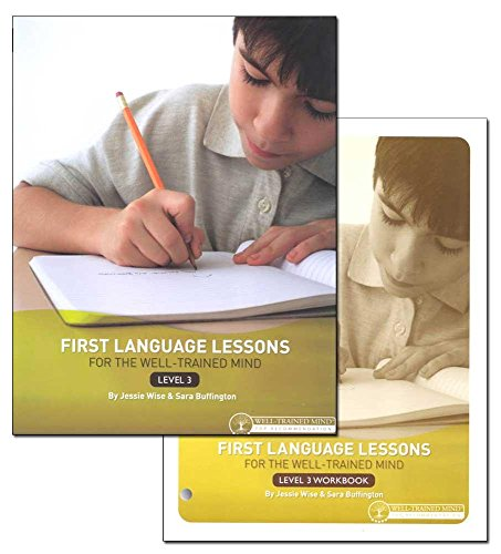 First Language Lessons, Level 3- Student Workbook + Instructor Guide