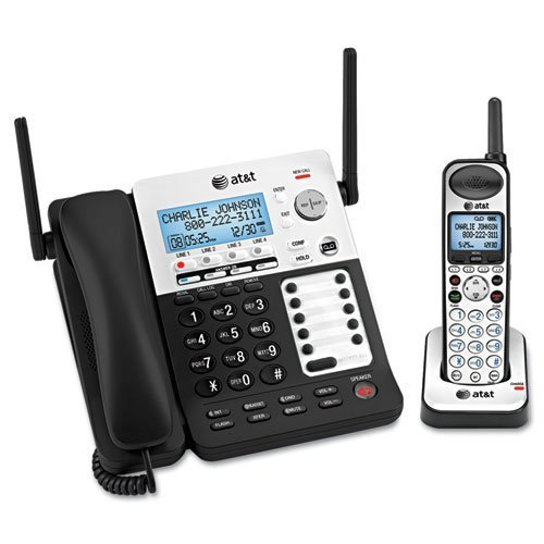 (AT&T SB67138 DECT6 Phone/Ans System, 4 Line, 1 Corded/1 Cordless Handset by Original Equipment Manufacture)