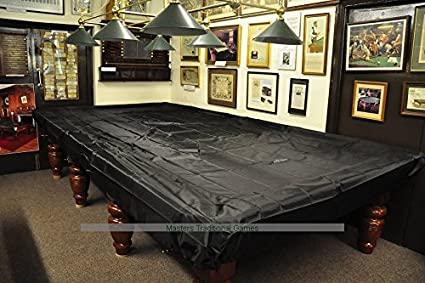 Peradon Fitted Plastic Table Cover For 10 Foot Snooker Table