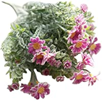 Artificial Flowers, Napoo 10 Heads Simulation Lavender Flowers Wedding Home Decoration (Hot pink)