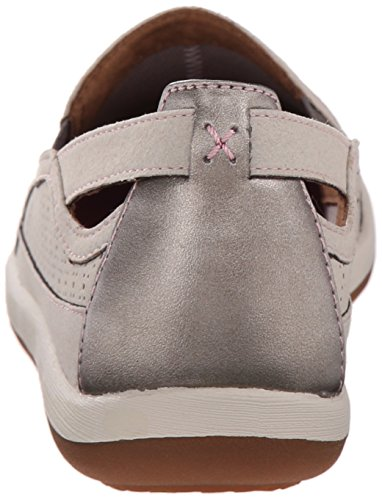 Cobb Hill Rockport Dames Zahara-ch Flat Taupe