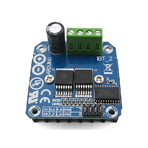 (JZK BTS7960B 43A High Power Double DC Stepper Motor Driver Module Board H-Bridge PWM for Smart Car Arduino)