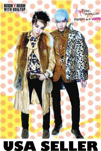 Bigbang Top G-Dragon High High Poster Big Bang Gd T.O.P. Korean boy band sent