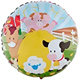 BirthdayExpress Farm Animal Party Supplies - Foil Balloon