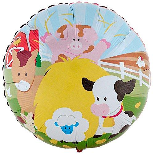BirthdayExpress Farm Animal Party Supplies - Foil Balloon by BirthdayExpress